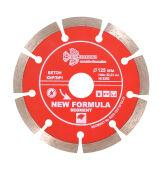Диск алмазный  TRIO-DIAMOND, Сегментный New Formula 125*10*22.23 mm