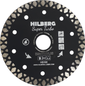 Диск алмазный Hilberg  Super Turbo 125*10*22,23 mm