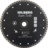 Диск алмазный Hilberg  Super Turbo 230*10*22,23 mm